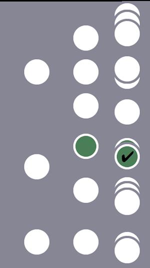 De tres usuarios, solo el segundo y una única sesión se incluyen en el segmento debido a una única condición de hit coincidente.Los otros dos usuarios y sus sesiones se excluyen.