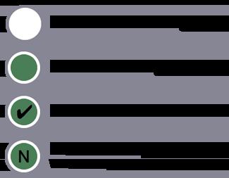 Uma legenda que define o estilo de cada nó na hierarquia do modelo de usuários com base no fato de o nó estar excluído de um segmento, estar incluído em um segmento, corresponder a uma condição ou corresponder a uma etapa em uma sequência.