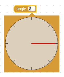Angle picker with large editor