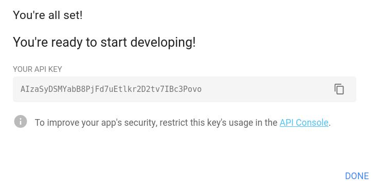 Key ready