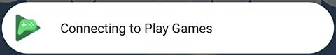 """屏幕截图上显示""""正在连接""""弹出式窗口。"""