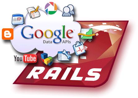 Google Data on Rails