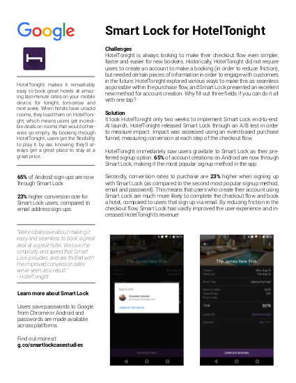 HotelTonight case study