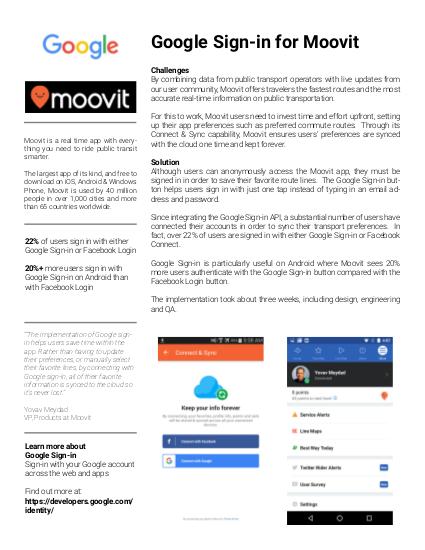 Moovit case study