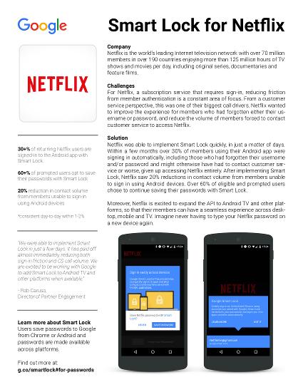 Estudo de caso da Netflix