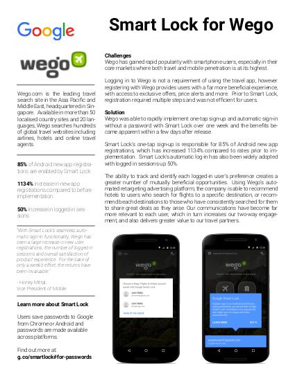 Estudo de caso Wego