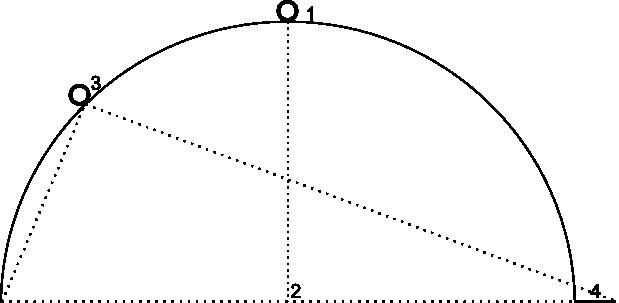 显示相机的视角设置为 45 度、缩放级别仍设置为 18 的图。