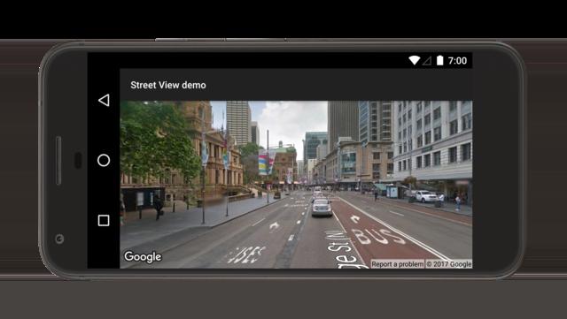 Demo panorama Street View