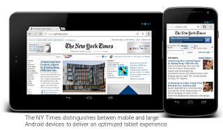 The NY Times mobile and tablet experience